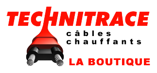 La boutique Technitrace – Câbles chauffants autorégulants Logo